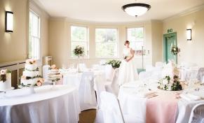 Bride in venue
