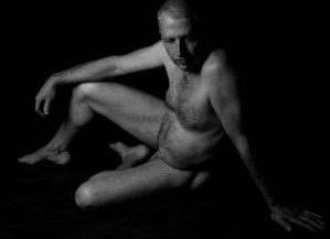 Roger, male nude