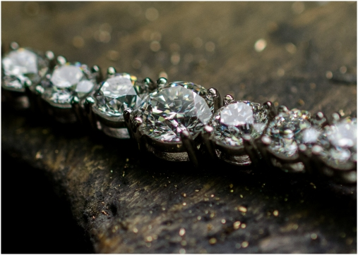 Platinum and dimond necklace