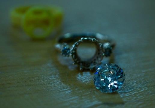 Remodel 3ct Old Cut diamond ring