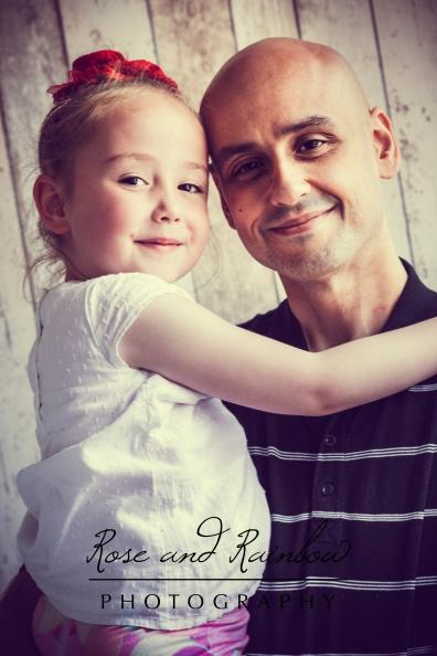 C-T Family Dad & Daughter