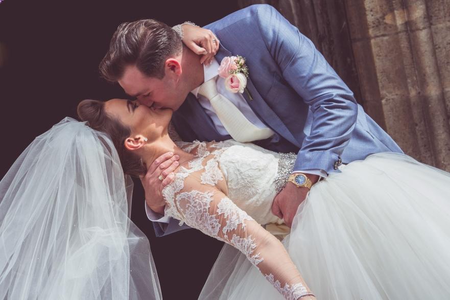 Rose and Rainbow Wedding header