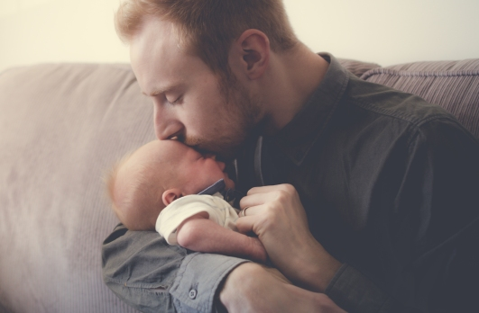 kiss from Dad